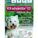 K-9 Advantix  II  11-20  teal    12 packs